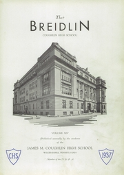 Page 5, 1937 Edition, Coughlin High School - Breidlin Yearbook (Wilkes Barre, PA) online yearbook collection