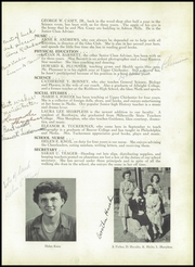 Page 13, 1944 Edition, Chichester High School - Eagle Yearbook (Boothwyn, PA) online yearbook collection