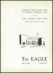Page 5, 1944 Edition, Chichester High School - Eagle Yearbook (Boothwyn, PA) online yearbook collection