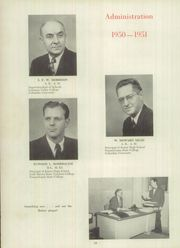 Page 14, 1951 Edition, Clearfield Area High School - Bison Yearbook (Clearfield, PA) online yearbook collection