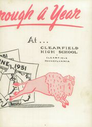 Page 7, 1951 Edition, Clearfield Area High School - Bison Yearbook (Clearfield, PA) online yearbook collection