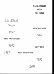 Page 5, 1957 Edition, Clearfield Area High School - Bison Yearbook (Clearfield, PA) online yearbook collection