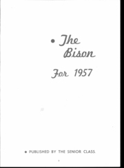 Page 7, 1957 Edition, Clearfield Area High School - Bison Yearbook (Clearfield, PA) online yearbook collection