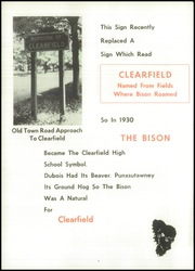 Page 8, 1960 Edition, Clearfield Area High School - Bison Yearbook (Clearfield, PA) online yearbook collection