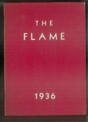 1936 Edition, Moon High School - Flame Yearbook (Coraopolis, PA)