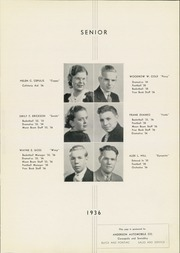 Page 11, 1936 Edition, Moon High School - Flame Yearbook (Coraopolis, PA) online yearbook collection