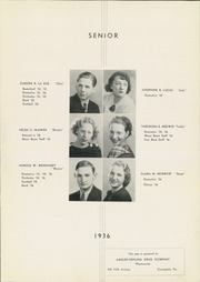 Page 13, 1936 Edition, Moon High School - Flame Yearbook (Coraopolis, PA) online yearbook collection
