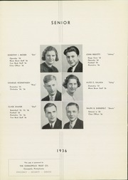 Page 14, 1936 Edition, Moon High School - Flame Yearbook (Coraopolis, PA) online yearbook collection