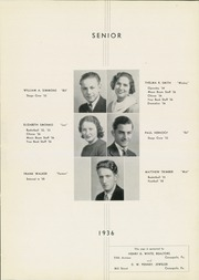 Page 15, 1936 Edition, Moon High School - Flame Yearbook (Coraopolis, PA) online yearbook collection