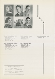 Page 14, 1938 Edition, Moon High School - Flame Yearbook (Coraopolis, PA) online yearbook collection