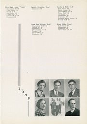 Page 15, 1938 Edition, Moon High School - Flame Yearbook (Coraopolis, PA) online yearbook collection