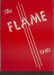 Moon High School - Flame Yearbook (Coraopolis, PA) online yearbook collection, 1940 Edition, Page 1