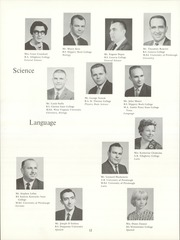 Page 16, 1964 Edition, Moon High School - Flame Yearbook (Coraopolis, PA) online yearbook collection