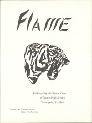 Page 5, 1964 Edition, Moon High School - Flame Yearbook (Coraopolis, PA) online yearbook collection