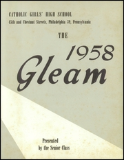 Page 7, 1958 Edition, West Philadelphia Catholic Girls High School - Gleam Yearbook (Philadelphia, PA) online yearbook collection