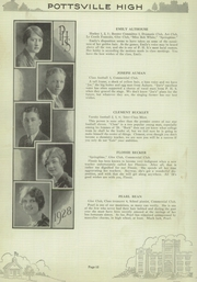 Page 16, 1928 Edition, Pottsville High School - Hi S Potts Yearbook (Pottsville, PA) online yearbook collection
