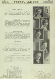 Page 17, 1928 Edition, Pottsville High School - Hi S Potts Yearbook (Pottsville, PA) online yearbook collection