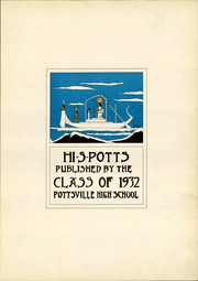 Page 7, 1932 Edition, Pottsville High School - Hi S Potts Yearbook (Pottsville, PA) online yearbook collection