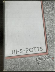 1937 Edition, Pottsville High School - Hi S Potts Yearbook (Pottsville, PA)