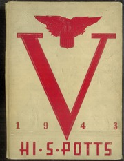 1943 Edition, Pottsville High School - Hi S Potts Yearbook (Pottsville, PA)