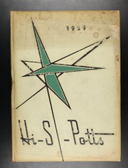 1959 Edition, Pottsville High School - Hi S Potts Yearbook (Pottsville, PA)