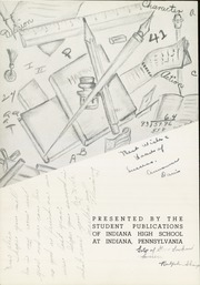 Page 4, 1941 Edition, Indiana High School - L Indien Yearbook (Indiana, PA) online yearbook collection