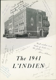Page 5, 1941 Edition, Indiana High School - L Indien Yearbook (Indiana, PA) online yearbook collection