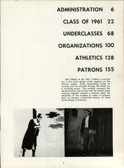 Page 9, 1961 Edition, Indiana High School - L Indien Yearbook (Indiana, PA) online yearbook collection
