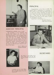 Page 12, 1958 Edition, Hopewell High School - Viking Yearbook (Aliquippa, PA) online yearbook collection