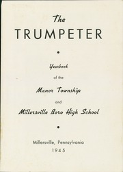 Page 5, 1945 Edition, Penn Manor High School - Trumpeter Yearbook (Millersville, PA) online yearbook collection