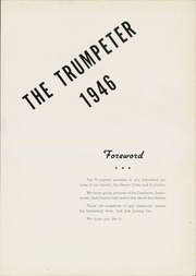 Page 7, 1946 Edition, Penn Manor High School - Trumpeter Yearbook (Millersville, PA) online yearbook collection