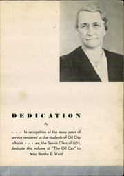 Page 7, 1935 Edition, Oil City High School - Oil Can Yearbook (Oil City, PA) online yearbook collection