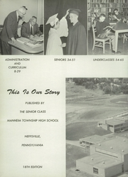 Page 6, 1960 Edition, Manheim Township High School - Neff Vue Yearbook (Lancaster, PA) online yearbook collection