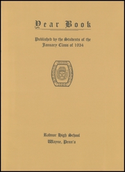 Page 5, 1934 Edition, Radnor High School - Radnor Yearbook (Radnor, PA) online yearbook collection