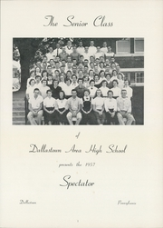 Page 5, 1957 Edition, Dallastown Area High School - Spectator Yearbook (Dallastown, PA) online yearbook collection