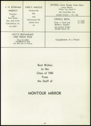 Page 141, 1960 Edition, Montour High School - Mirror Yearbook (Moon Run, PA) online yearbook collection