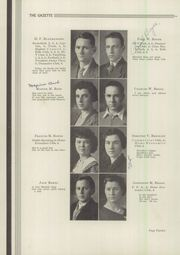 Page 16, 1935 Edition, Lock Haven High School - Gazette Yearbook (Lock Haven, PA) online yearbook collection