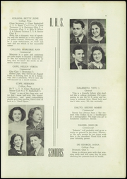 Page 11, 1940 Edition, Berwick High School - Blue and White Yearbook (Berwick, PA) online yearbook collection