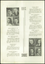 Page 14, 1940 Edition, Berwick High School - Blue and White Yearbook (Berwick, PA) online yearbook collection