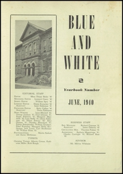 Page 3, 1940 Edition, Berwick High School - Blue and White Yearbook (Berwick, PA) online yearbook collection