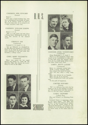 Page 9, 1940 Edition, Berwick High School - Blue and White Yearbook (Berwick, PA) online yearbook collection