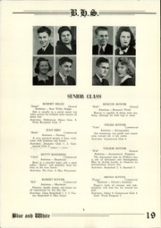Page 10, 1942 Edition, Berwick High School - Blue and White Yearbook (Berwick, PA) online yearbook collection