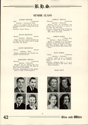 Page 11, 1942 Edition, Berwick High School - Blue and White Yearbook (Berwick, PA) online yearbook collection