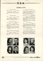 Page 15, 1942 Edition, Berwick High School - Blue and White Yearbook (Berwick, PA) online yearbook collection