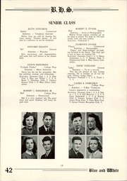 Page 17, 1942 Edition, Berwick High School - Blue and White Yearbook (Berwick, PA) online yearbook collection
