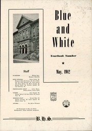 Page 3, 1942 Edition, Berwick High School - Blue and White Yearbook (Berwick, PA) online yearbook collection