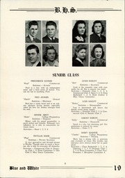 Page 8, 1942 Edition, Berwick High School - Blue and White Yearbook (Berwick, PA) online yearbook collection