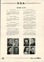 Page 9, 1942 Edition, Berwick High School - Blue and White Yearbook (Berwick, PA) online yearbook collection