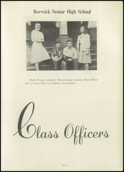 Page 9, 1946 Edition, Berwick High School - Blue and White Yearbook (Berwick, PA) online yearbook collection