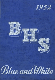 Page 1, 1952 Edition, Berwick High School - Blue and White Yearbook (Berwick, PA) online yearbook collection